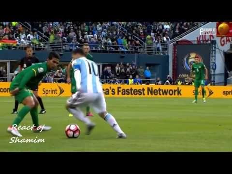 Lionel Messi vs Bolivia Copa America 2016 HD 720p 15 06 2016