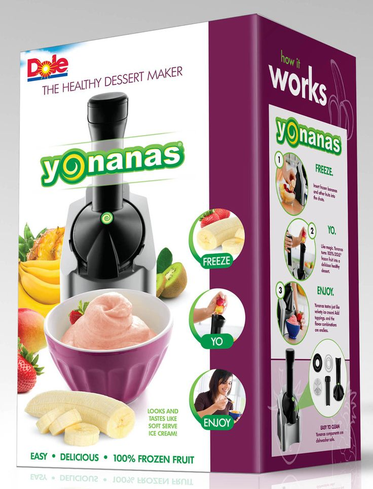 Yonanas Maker ... if you have a sweet tooth and want to eat healthy you have to get one of these... easy, easy...