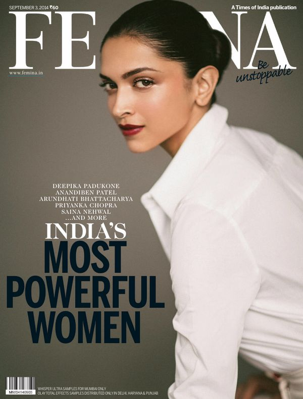 #DeepikaPadukone #Femina India September 2014