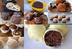 Tartufini ricette facili e golose raccolta vickyart arte in cucina