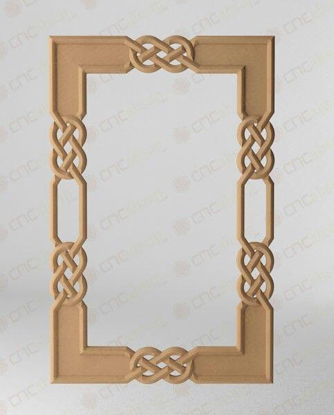 Mdf ayna Çerçevesi mirror frame cahsap