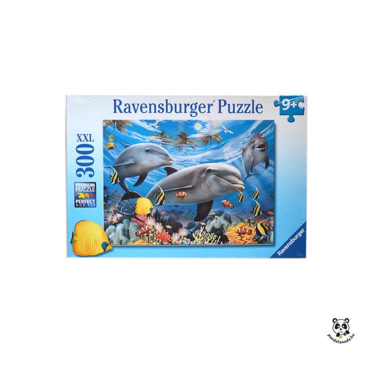 Ravensburger xxl puzzle 300 db delfinek és bohóchalak
