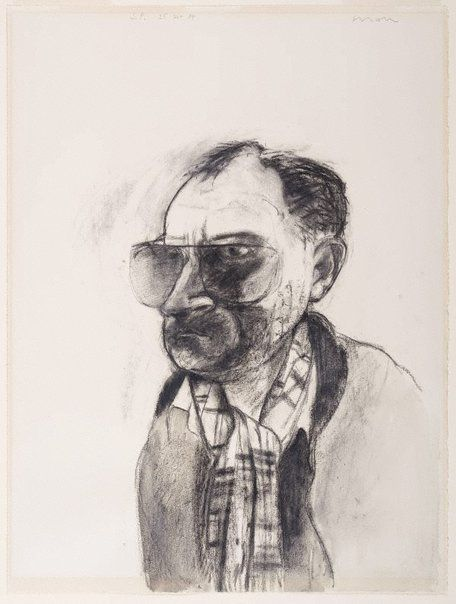 Kevin Lincoln - Self portrait (charcoal)