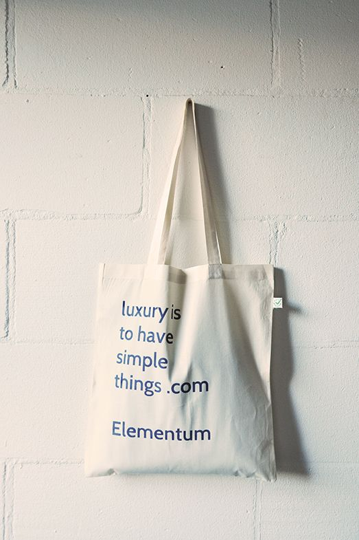 Elementum: luxury is to have simple things.