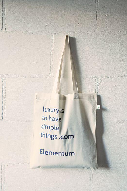 Elementum: luxury is to have simple things.