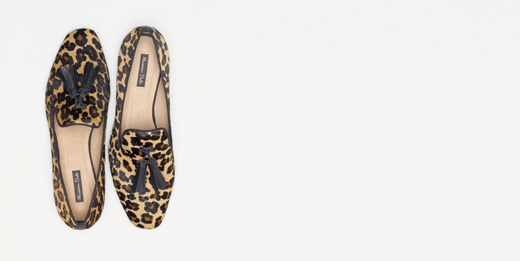 ANIMAL PRINT SLIPPER - Shoes - WOMEN - United States