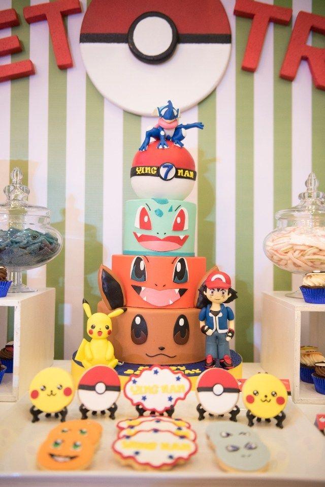 Ying Nan's Pokemon Themed Party – Cake