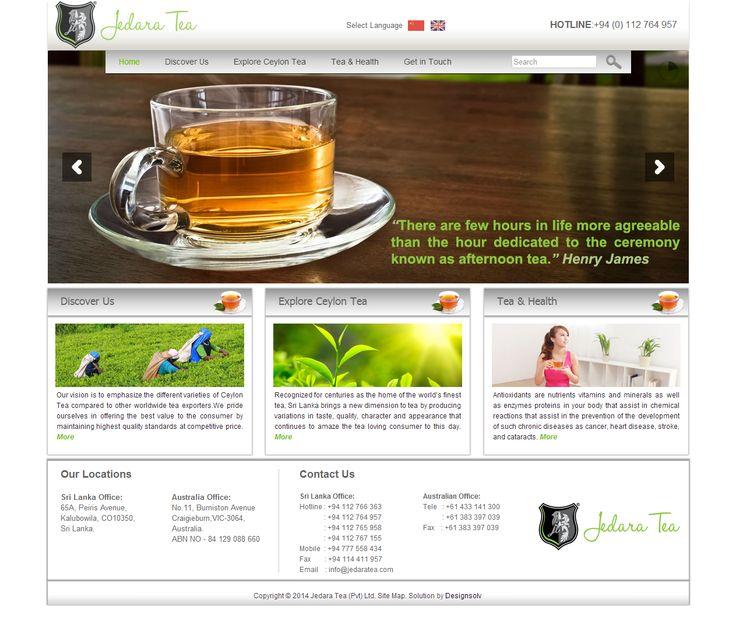 Jedara Tea Website