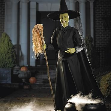 Guests and trick or treaters alike will delight this Halloween in the  Life size Wicked Witch of the West Animated Figure that recites phrases  from  The  26 best GRANDIN ROAD Halloween Party Food images on Pinterest  . Martha Stewart Halloween Costumes Grandin Road. Home Design Ideas