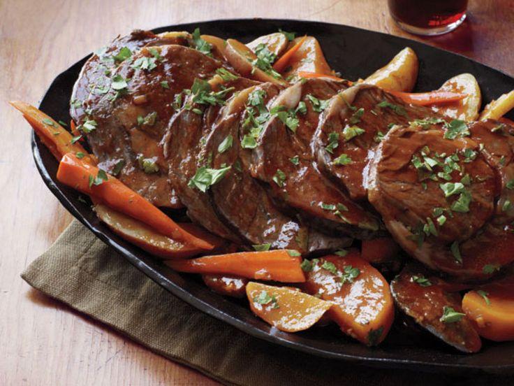 Classic Pot Roast recipe from Food Network Kitchen via Food Network
