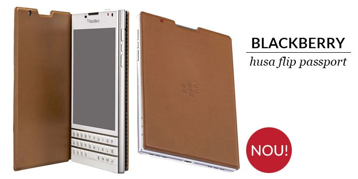 husa flip BlacBerry Passport