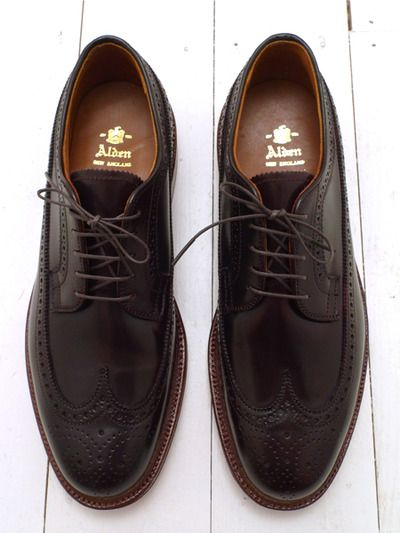 Alden Brogues Shoes And Accessories Pinterest