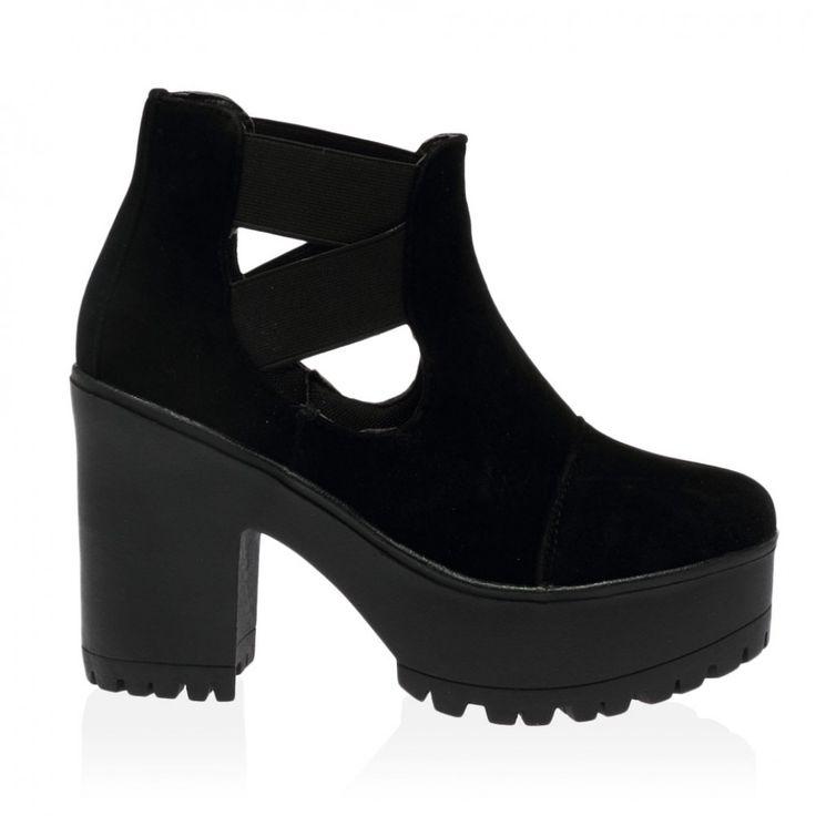 Public Desire Cutout Ankle Boots - £29.99 (£32.98 total) - Size 6