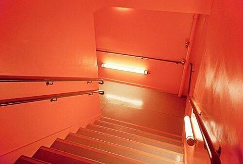 WEBSTA @ how.boring - #aesthetic #tumblr #orange #stairs #neonlight #light #orangefeed #orangetheme #aestheticshot #indie #hipster #aestheticpage #likesforlikes #instagram #l4l #inshot #tumblrpage #instagood #tumblrpost