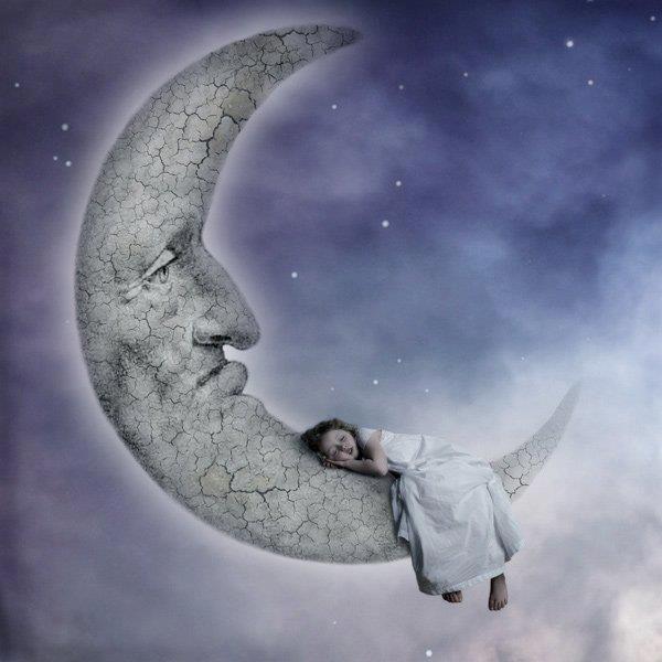 Resultado de imagen de durmiendo con la luna