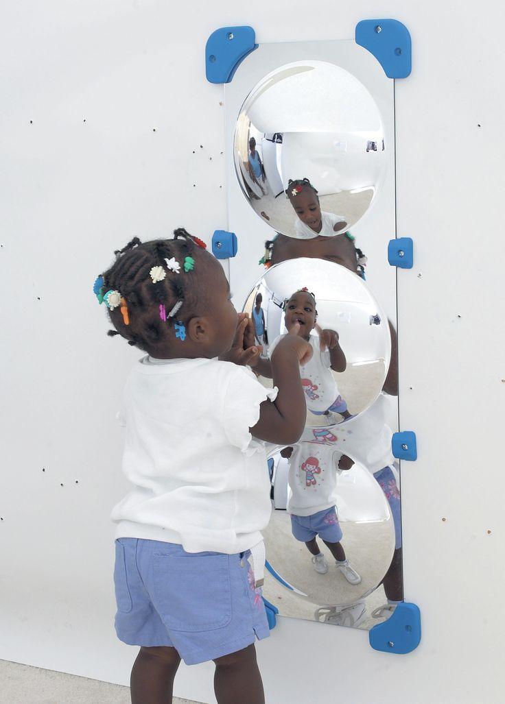 3 Bubble Border Mirror