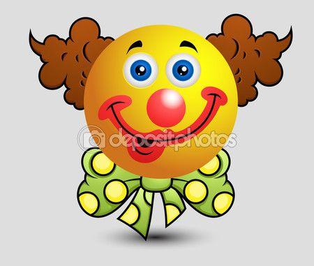 depositphotos_98063286-Cartoon-funny-clown-emoji-smiley.jpg (450×381)