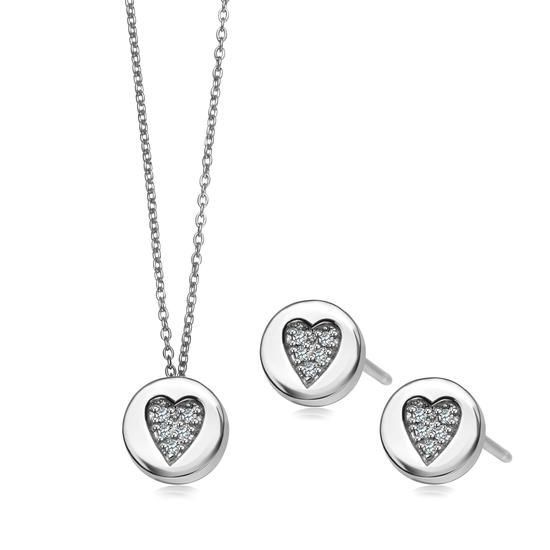 Komplet Walentynkowy YES Pills Collection, 159 PLN.   www.YES.pl/55493-komplet-walentynkowy-yes-pills-collection-AB-S-000-000-AKCL2473 #jewellery #buyonline #heart #love #YESforRomance #perfect #shop #freedelivery #Poland #BizuteriaYES
