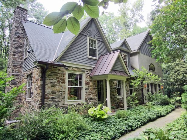 25 Dreamy Homes From House Hunters : Decorating : Home & Garden Television, historic Brandywine Valley, Penn. farmhouse