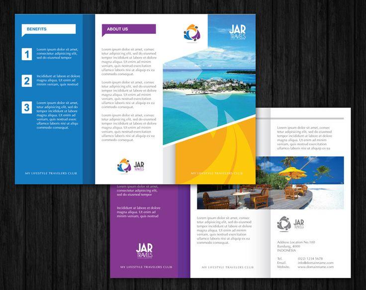 Brochure design for Jar Travels