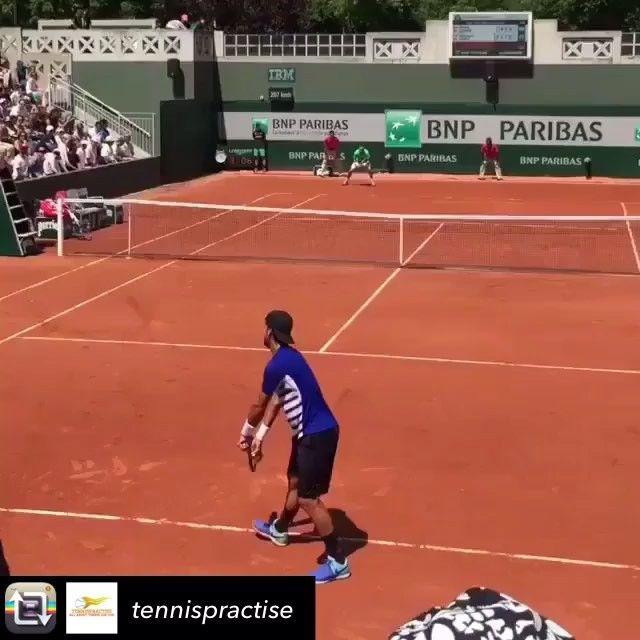 Check out @tennispractise Feliciano Lopez vs David Ferrer court view!  #tennis #tennisvideo #tennispractise #love #followme #atp #wta #usopen #daviscup #nadal #federer #djokovic #RogerFederer #wimbledon #felicianolopez #RolandGarros #BNPPM #bnpparibas #AusOpen #australianopen #etennisleague #etennisleaguenation #tennislove #tennis❤️ #tennis🎾 #tennisplayers #tennisplayer