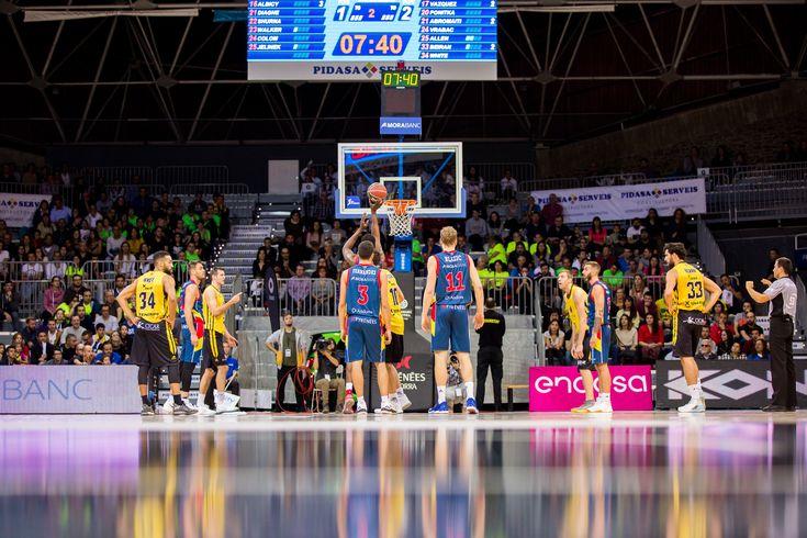 Andorra 58-Canarias 48  Ignominia del Canarias en un partido ridículo