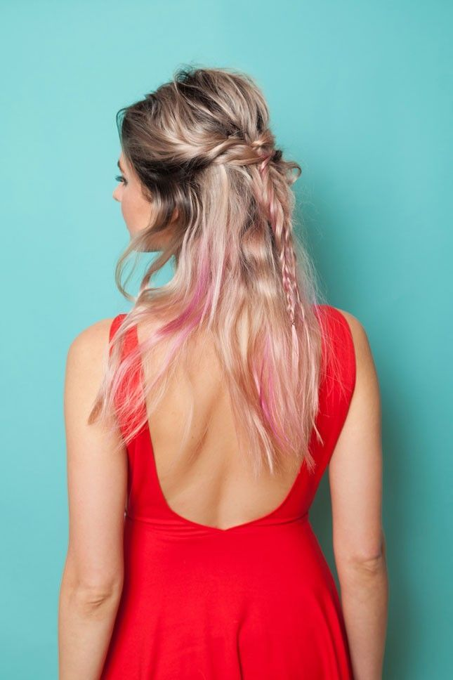 15 #Easy #Hairstyles #for #the #Coachella-Bound #Babe #| #Brit #+ #Co