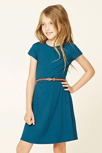 Girls Belted Dress (Kids)