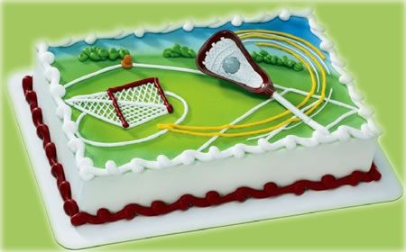 lacrosse birthday cake - Google Search