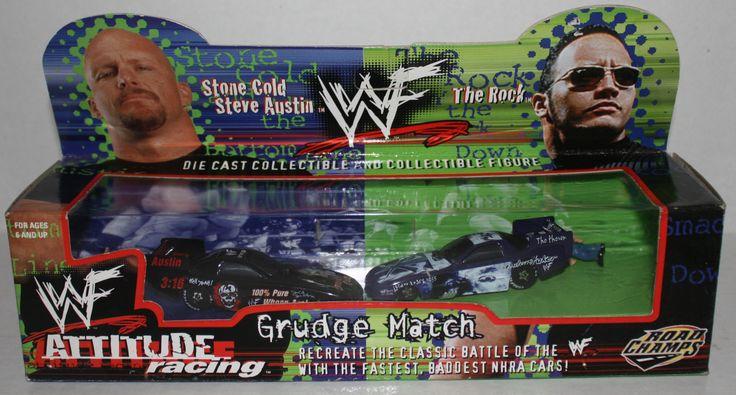 (TAS020820) - WWF Attitude Racing Grudge Match Steve Austin vs. The Rock