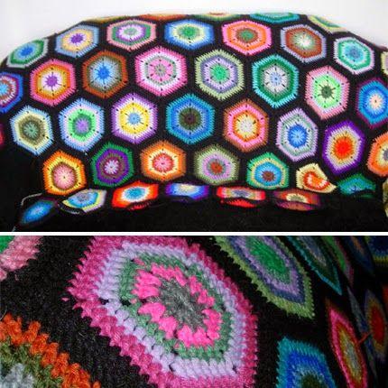 Crochet For Children: Hex Scrap Afghan - Free Pattern