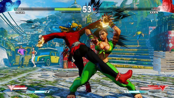 Street Fighter V Laura Matsuda Images and Video Show Moves V