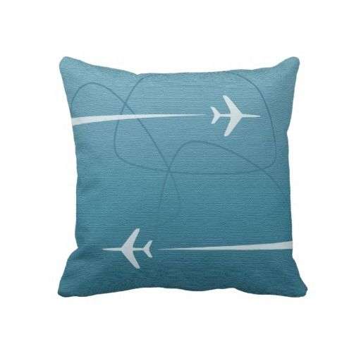 17 Best Images About Airplane Throw Pillows On Pinterest