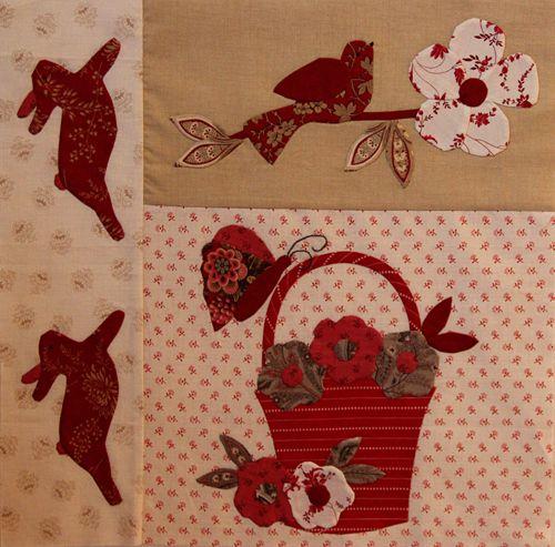 12 best le jardin bunny hill images on Pinterest   Applique ... : le jardin quilt pattern - Adamdwight.com