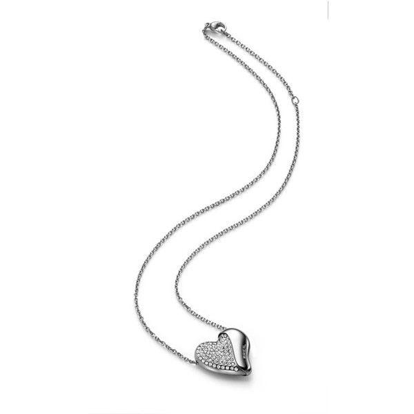 Collana Pendente Donna Breil Heartbreaker Acciaio Swarovski Tj 1549
