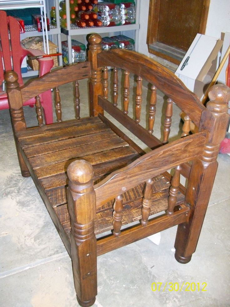 Bed Frame Bench