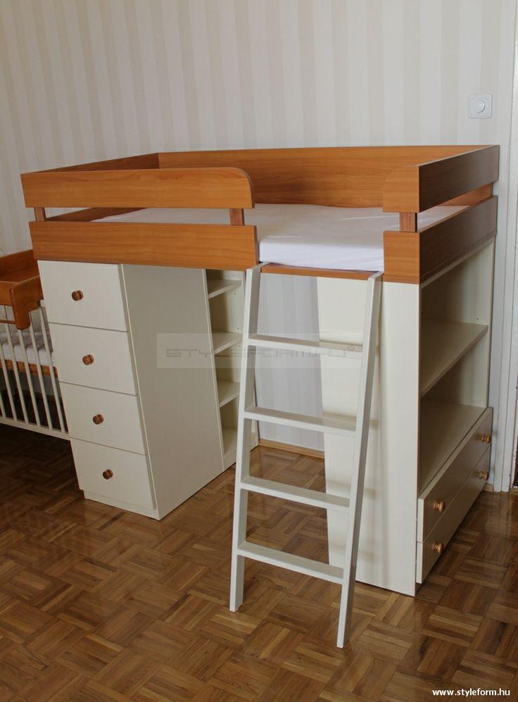Styleform.hu - Gyerekszobai emeletes ágy