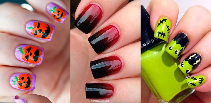 """<p>O Dia das Bruxas se aproxima e já demos dicas de <a href=""""http://www.taofeminino.com.br/estilo/looks-com-preto-laranja-e-roxo-s1997759.html"""">looks incríveis com preto, laranja e roxo</a> para você entrar no clima da festa mais ~assustadora~do ano. Para combinar, que tal investir em uma <b>nail art de Halloween</b>?</p><p><br/></p><p>Das clássicas abóboras até personagens conhecidos do cinema,reunimos neste álbum as <b>unhas de Halloween</b> mais legais de todo Pinterest, Instagram e da…"""
