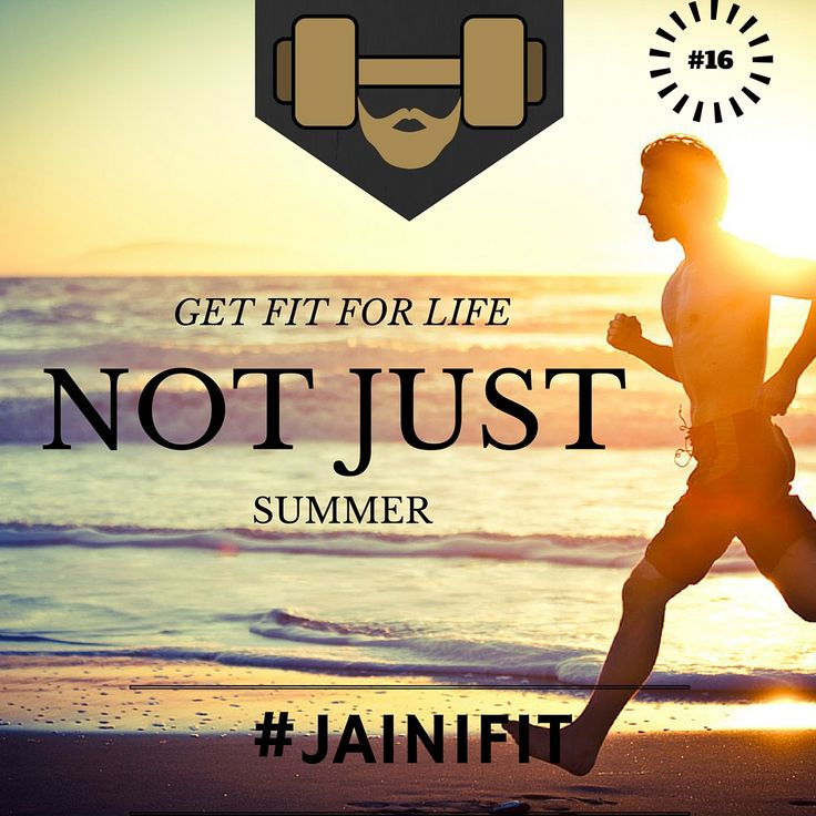 """""""Get fit for life NOT JUST summer"""" #jainifit #motivationalquotes #16 #sweat #fitfam #fitspo #fitness #mcm #gymtime #treadmill #gainz #workout #getstrong #wcw #getfit #justdoit #youcandoit #fitinspiration #bodybuilding #cardio #ripped #gym #geekabs #shredded #abs #sixpacks #muscles #strong #lift #weights"""