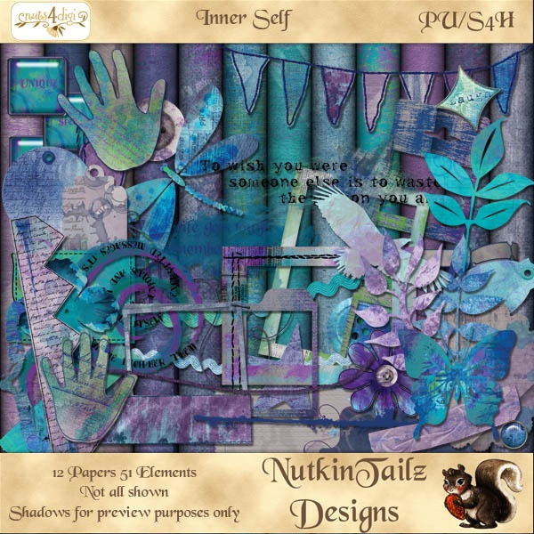 Inner Self [NutkinTailz Designs] - AU$3.00 : Nuts4Digi.com Store