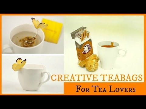 #tealovers #teabags #creativeteabags #doityourself #diy #tea #creativeideas