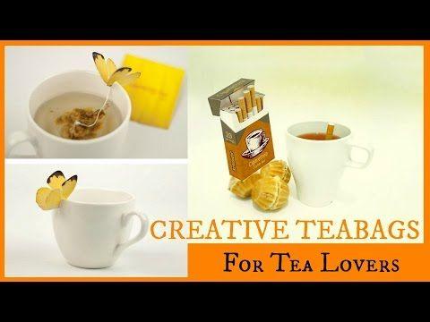 #tealovers #teabags #creativeteabags #doityourself #diy #tea #creativeideas
