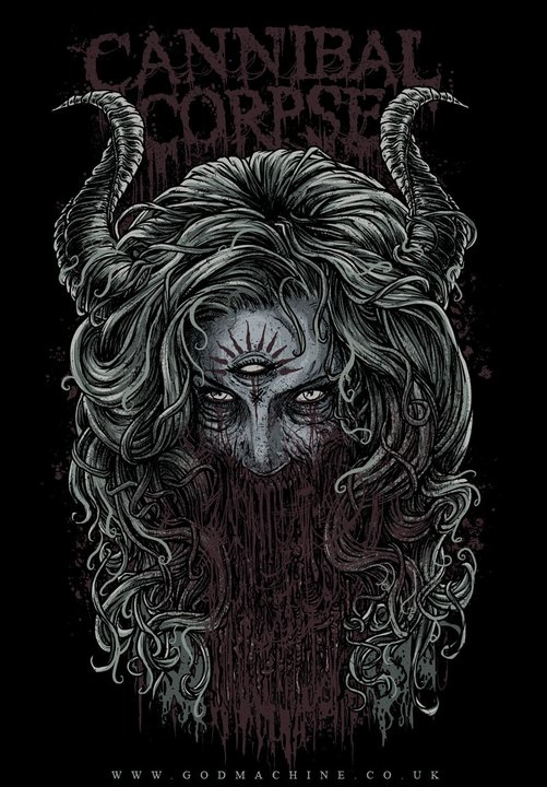 Cannibal Corpse by Godmachine