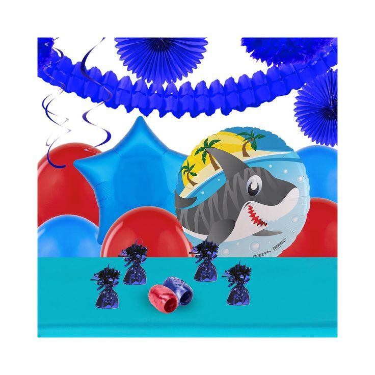 Sharks Party Decoration Kit