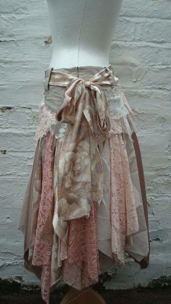 Upcycled Kleidung – Böhmischer Stil
