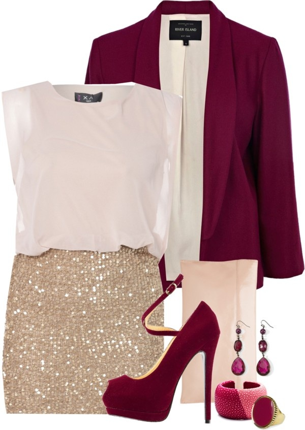 """""""conjunto elegante"""" by vickiprevicyrus ❤ liked on Polyvore"""