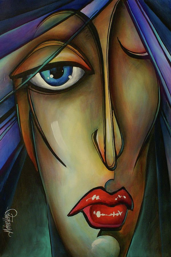 Shame Painting by Michael Lang