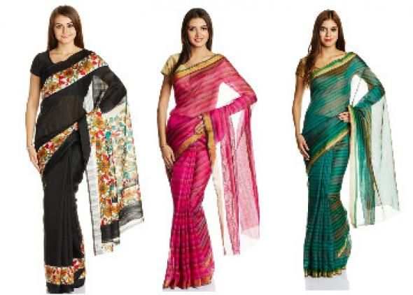 Buy Slik Sarees Starting At Rs.490 at Indiarush