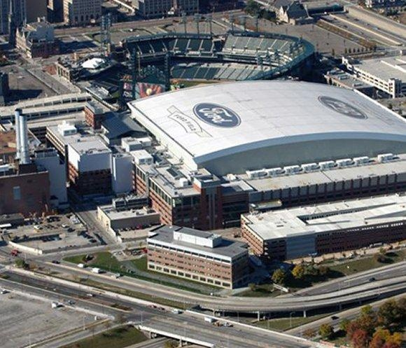Ford Field - Detroit Lions.  Will have Udi's gluten free buns for those in need!  :)