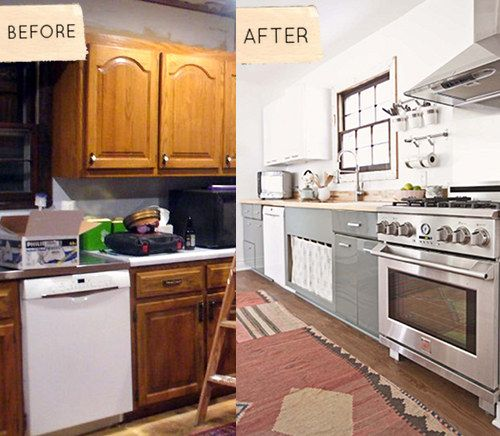 Kitchen Makeovers Before And After: 1000+ Images About Before And After Renovation On